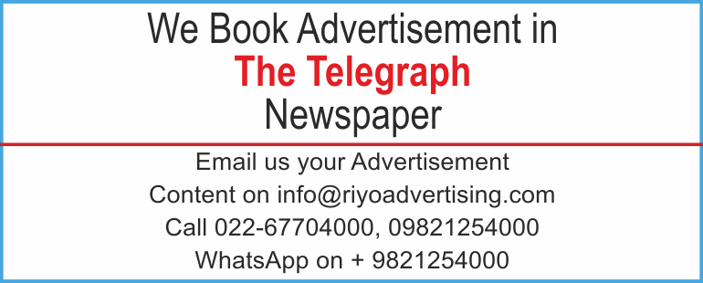 Newspaper advertisement sample for The Telegraph